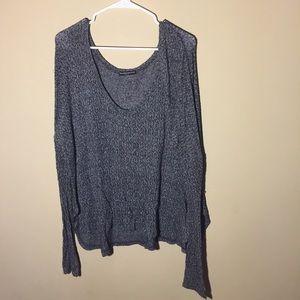 Brandy Melville scoop neck sweater